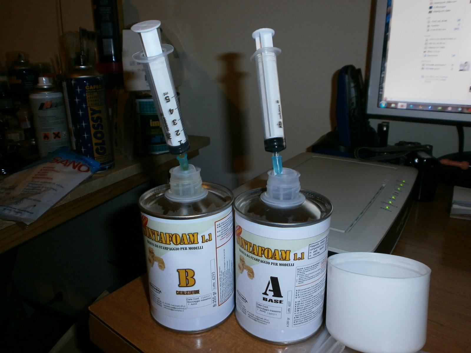 Come creare uno stampo con la gomma siliconica e usare for Gomma siliconica per calchi