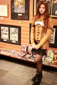 Giada 2° classificata miglior outfit steampunk