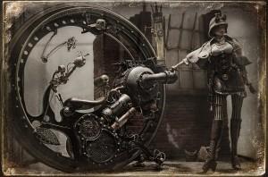 il modellino Modern Steam Monobike 1896 di Stefano Marchetti