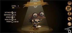 L'esploratore con goggles e daga