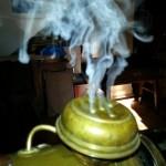 Esempio del vapore prodotto