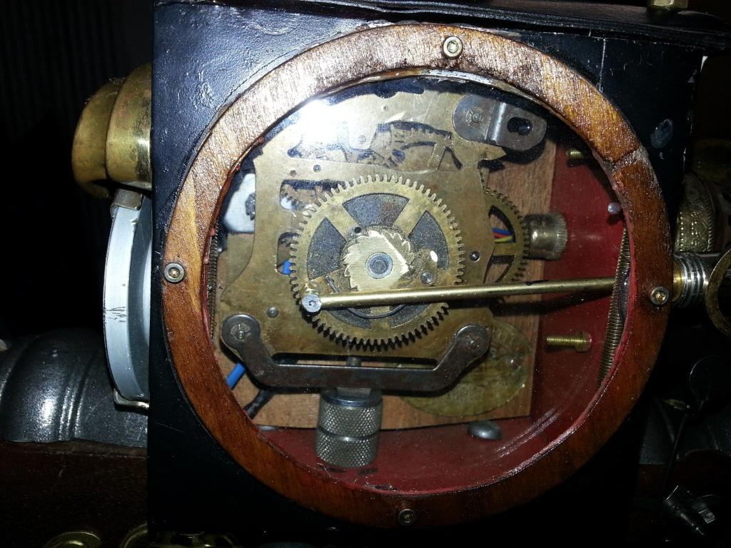 Vista laterale meccanismo