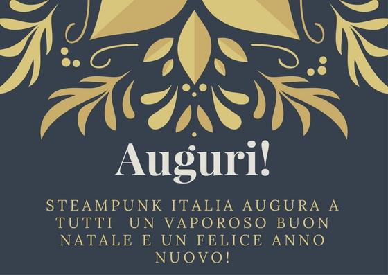 Auguri da Steampunk Italia